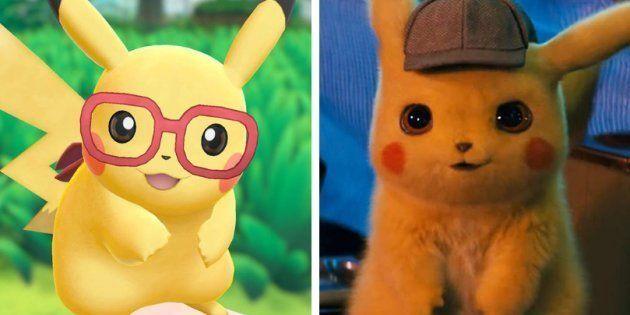 Pikachu estrela game do Nintendo Switch e filme em que ganha a voz do ator Ryan