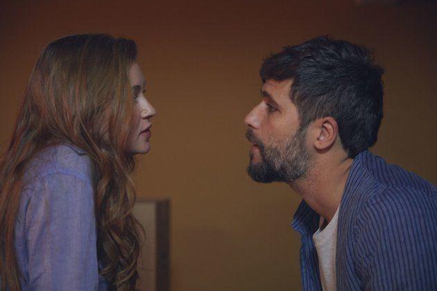 Assim como na novela das 9, 'O Sétimo Guardião', Marina Ruy Barbosa e Bruno Gagliasso formam par romântico...