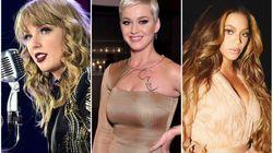 As 10 cantoras mais bem pagas de