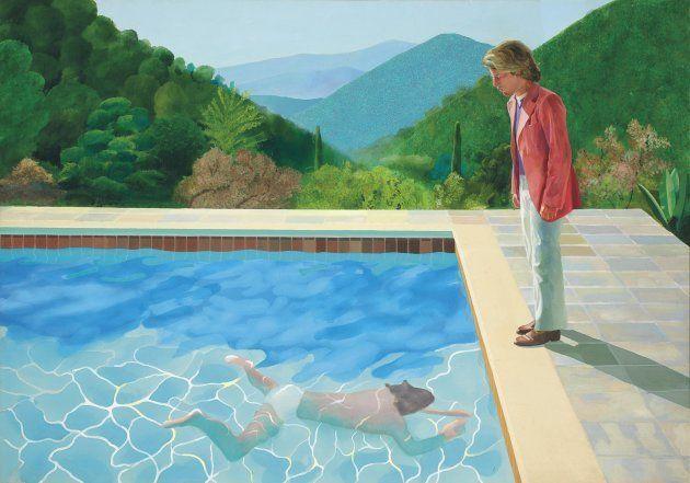 'Retrato de um Artista (Piscina com Duas Figuras)': tela foi arrematada por mais de 90 milhões de