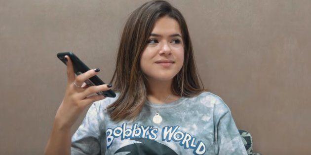 Em vídeo, Maisa explica treta com Raul Gil e dá uma aula sobre fake