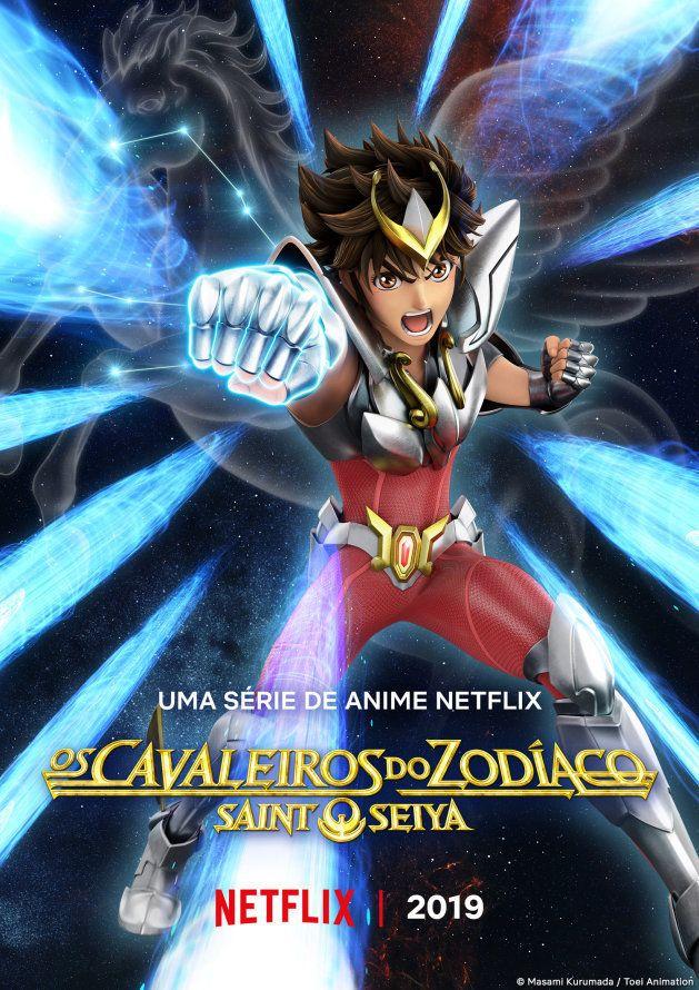 Os Cavaleiros do Zodíaco, Ultraman e novos animes chegam à Netflix em