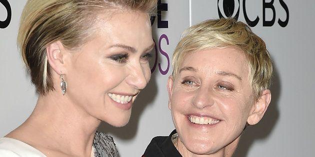 Ellen DeGeneres e Portia de Rossi completaram 15 anos de união neste início de