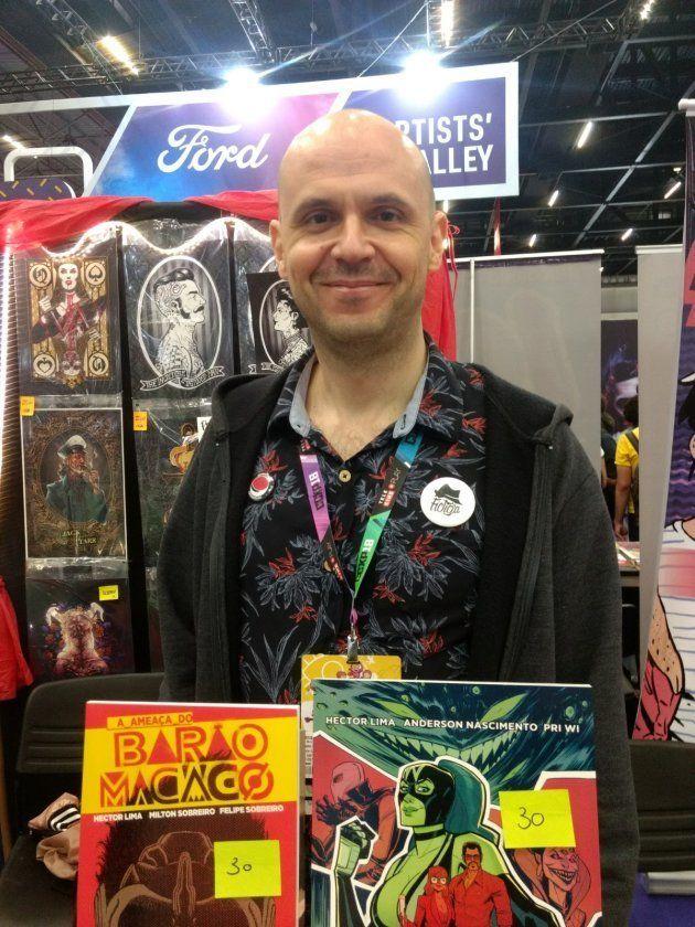 Hector Lima, roteirista de graphic novels como
