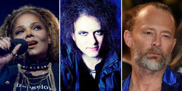 Além de Janet Jackson, The Cure e Radiohead, outros cinco artistas serão nomeados: Stevie Nicks, integrante...