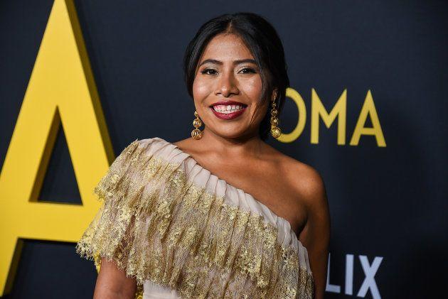 Yalitza Aparicio na première de 'Roma' em Los Angeles, nos