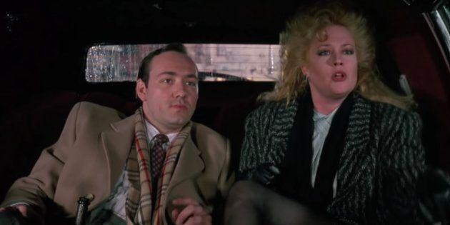 """Kevin Spacey fez o papel de um cara sinistro na comédia romântica """"Uma Secretária de"""