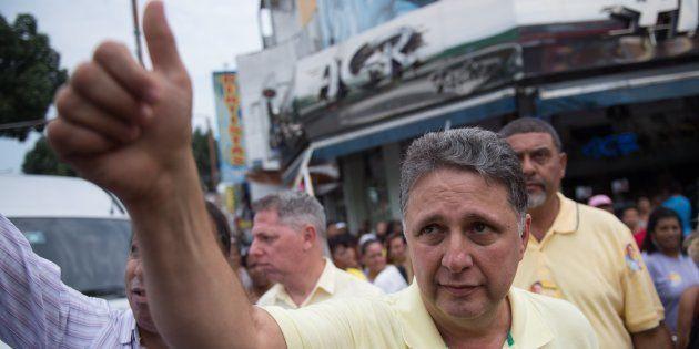 Ex-governador do Rio de Janeiro Anthony Garotinho é