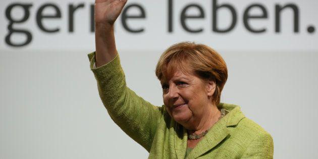 Merkel está em campanha para conquistar o quatro mandato de chefe de