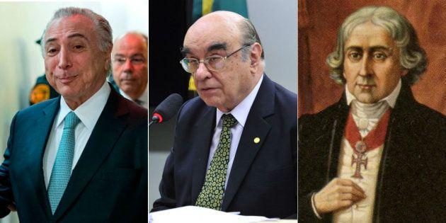 Relator da segunda denúncia contra presidente Michel Temer é o deputado Bonifácio de Andrada