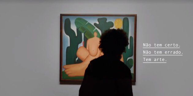 Campanha da Pinacoteca busca desmistificar a