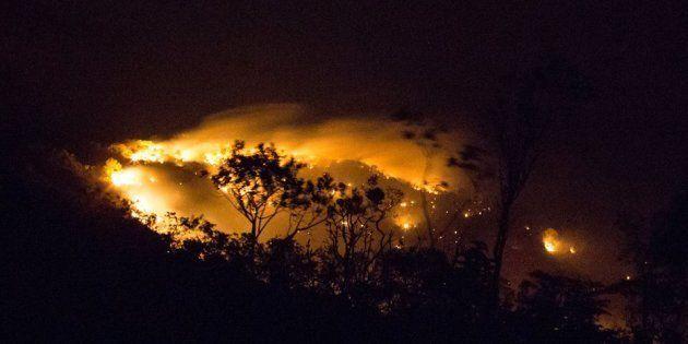 Incêndio na Chapada dos Veadeiros atinge 35 mil