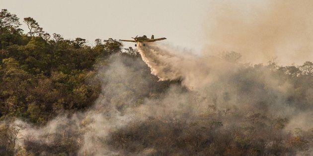 Incêndio no Parque Nacional da Chapada dos Veadeiros atinge 35 mil