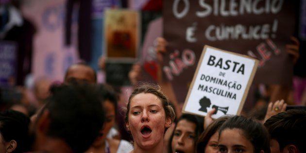 Protesto pelo combate à violência contra a