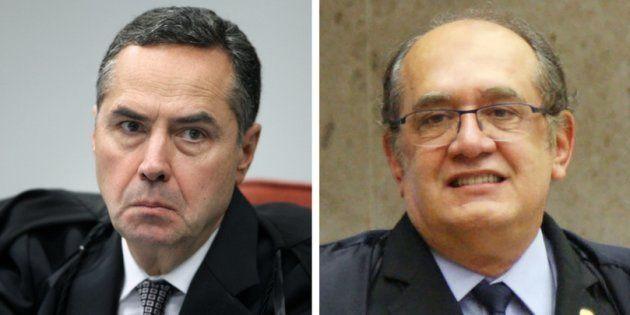 O argumento de Barroso que calou Gilmar Mendes em bate-boca no