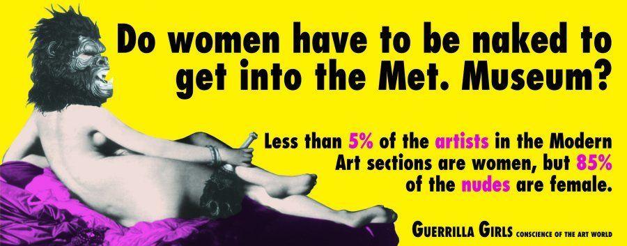 Curadora do 'Guerrilla Girls' em SP: 'A arte nos ensina que não há uma só