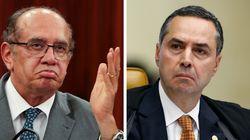 Gilmar Mendes não superou o bate-boca com Barroso e alfinetou o colega de
