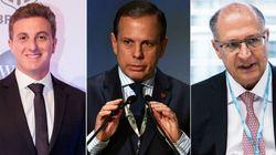 Luciano Huck empata com Doria e Alckmin, diz