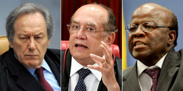 Lewandowski, Mendes e Barbosa protagonizam as cinco melhores discussões entre ministros no Supremo Tribunal
