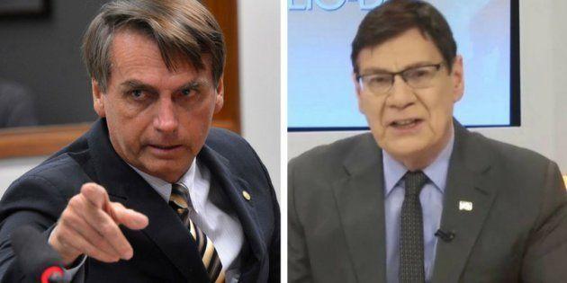 Bolsonaro e Luiz Carlos Prates são conhecidos pelos comentários