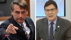 Bolsonaro quer comentarista de SC que atacou pessoas com depressão na disputa pelo Senado em