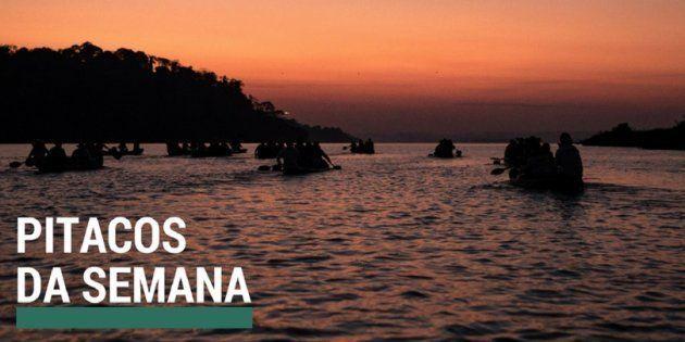 O rio Xingu é uma das travessias abordadas no especial da Agência Pública sobre a resistência indígena...