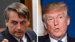 Bolsonaro quer ser o Trump brasileiro, mas é menos Trump que o