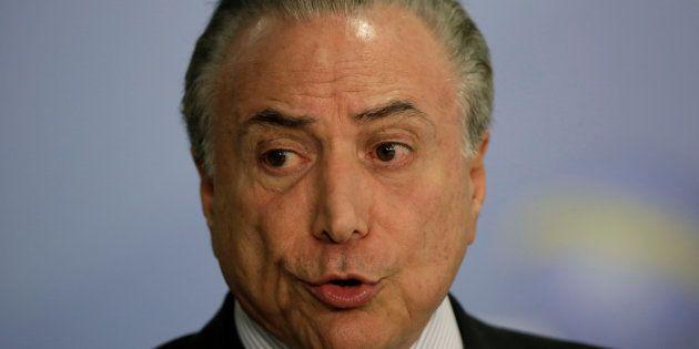 Presidente Michel Temer diz que brasileiro tem tendendência ao autoritarismo em discursos de comemoração...