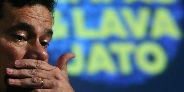 Juiz Sergio Moro em fórum sobre a as