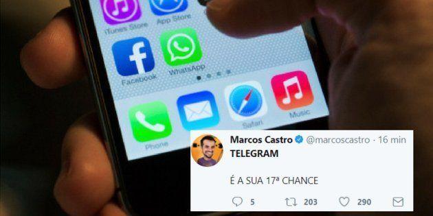 Os usuários do Whatsapp reclamaram da instabilidade do aplicativo nesta quinta-feira