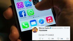As pessoas ficaram muito pistola com a queda do Whatsapp no Brasil e no