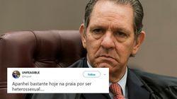 O Twitter tem algo a dizer para o ministro que acha que heterossexual perdeu