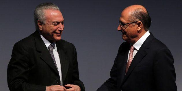 Oficialização de Geraldo Alckmin sinaliza distanciamento da imagem do governo de Michel