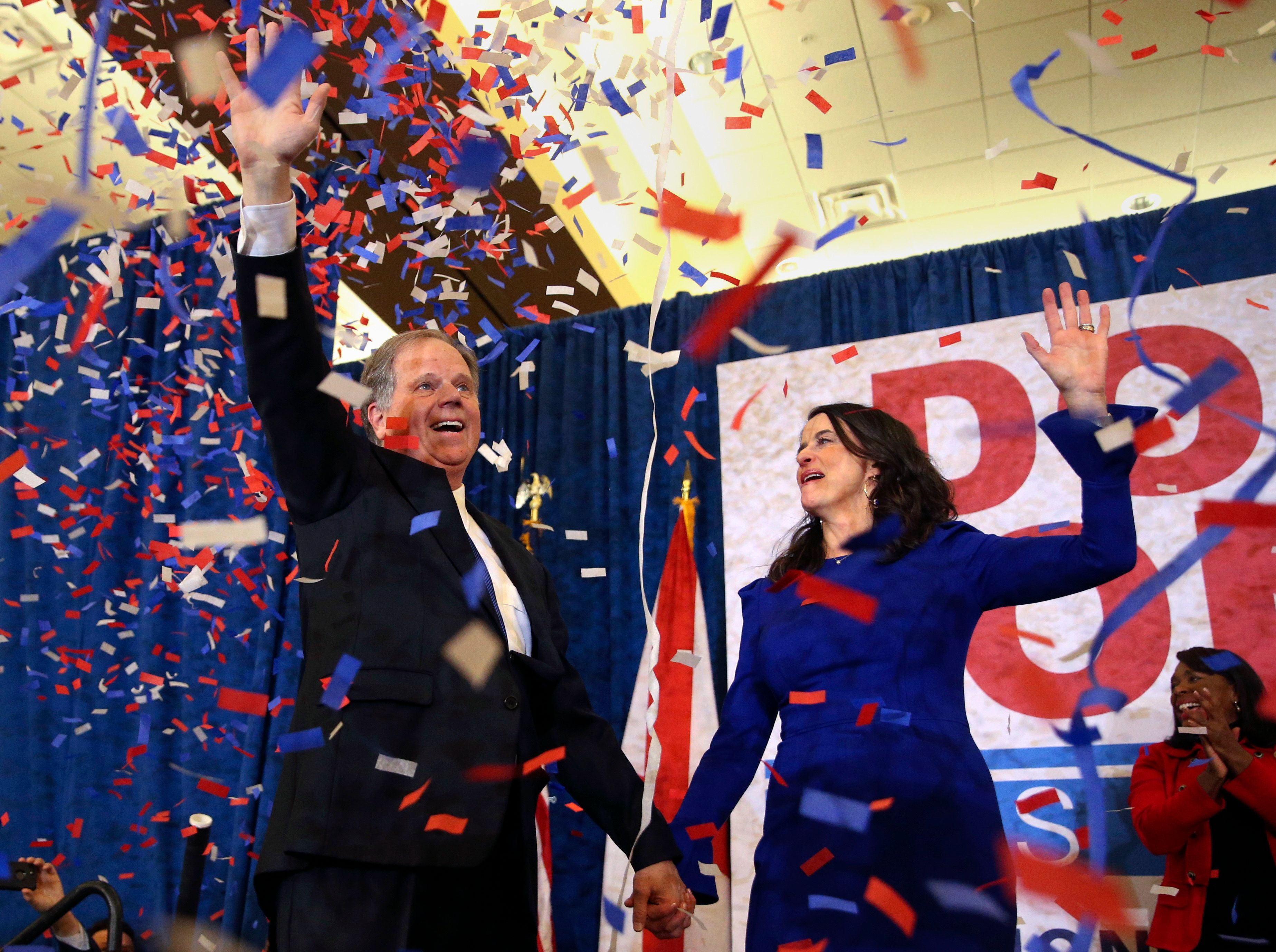 Democratic Sen. Doug Jones won the election by fewer than 22,000 votes.