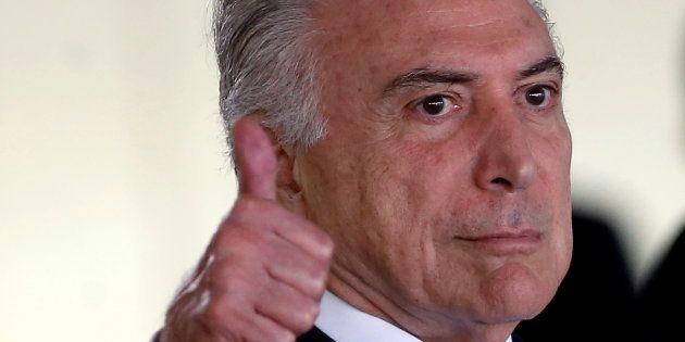 Entre junho e julho, meses que antecederam a votação da primeira denúncia contra o presidente Michel...