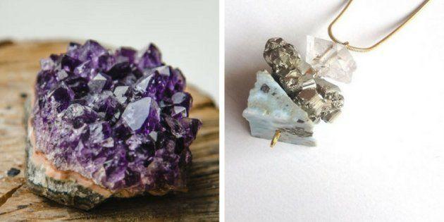 Como usar pedras e cristais para filtrar