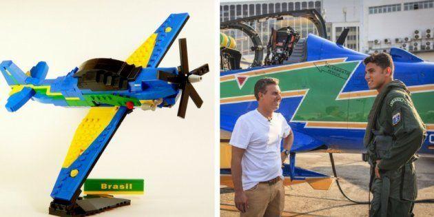 Apresentador de televisão Luciano Huck apoia construção de brinquedo da Lego chamado Super