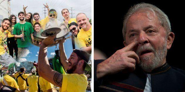 Movimentos organizam atos em função do julgamento do ex-presidente Luiz Inácio Lula da Silva em Porto...