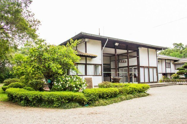 Viste o pavilhão japonês no Parque