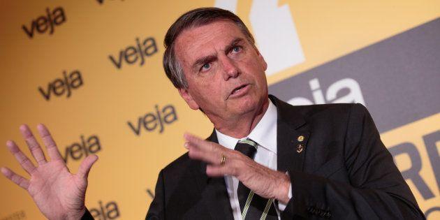Deputado federal e presidenciável, Jair Bolsonaro (PSC-RJ) defende que ex-presidente Luiz Inácio Lula...