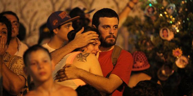 Ato em 2014 em Buenos Aires lembra dez anos do incêndio na boate República