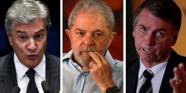 Desses três pré-candidatos à Presidência, um foi condenado e dois são