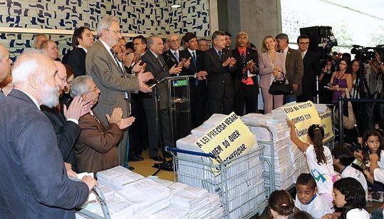 Após Lula enquadrado, idealizador da Lei da Ficha Limpa não teme alterações na
