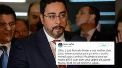 O auxílio-moradia que o juiz Marcelo Bretas e a esposa recebem deixou o pessoal