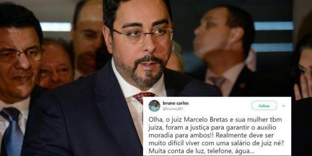 O auxílio-moradia que o juiz Marcelo Bretas e a esposa gerou comoção nas redes