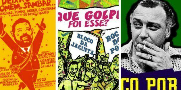 Blocos de carnaval saldam ex-presidente, ativista feminista e vão parar na Justiça por homenagear a