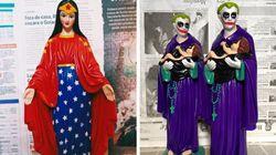 Justiça libera esculturas de santos fantasiados proibidas desde