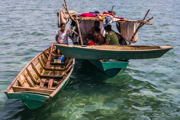Conheça o povo Bajau Laut, os nômades