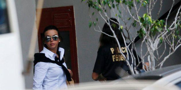 Adriana Ancelmo, esposa de Sérgio Cabral, ex-governador do Rio de Janeiro, presta depoimento à Polícia...