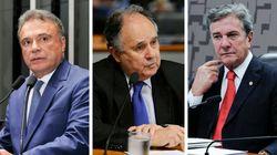 Senadores presidenciáveis estavam ausentes na votação da